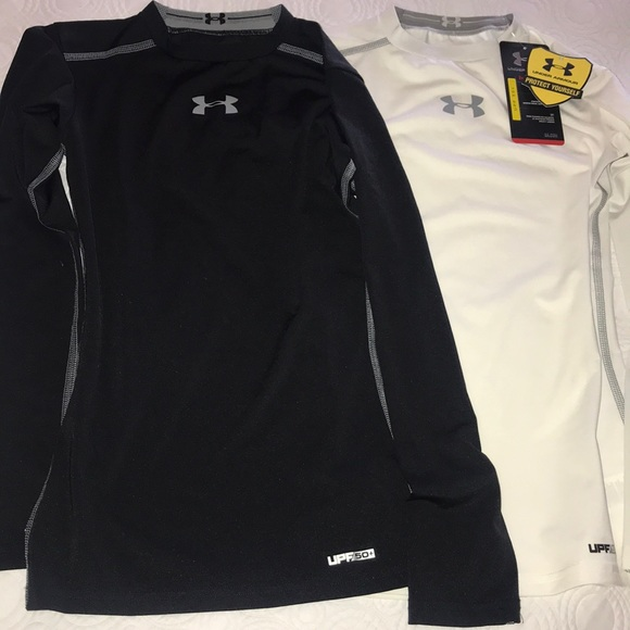 c7a9bb8b Under Armour Shirts & Tops | Boys Under Armor Compression Shirts ...